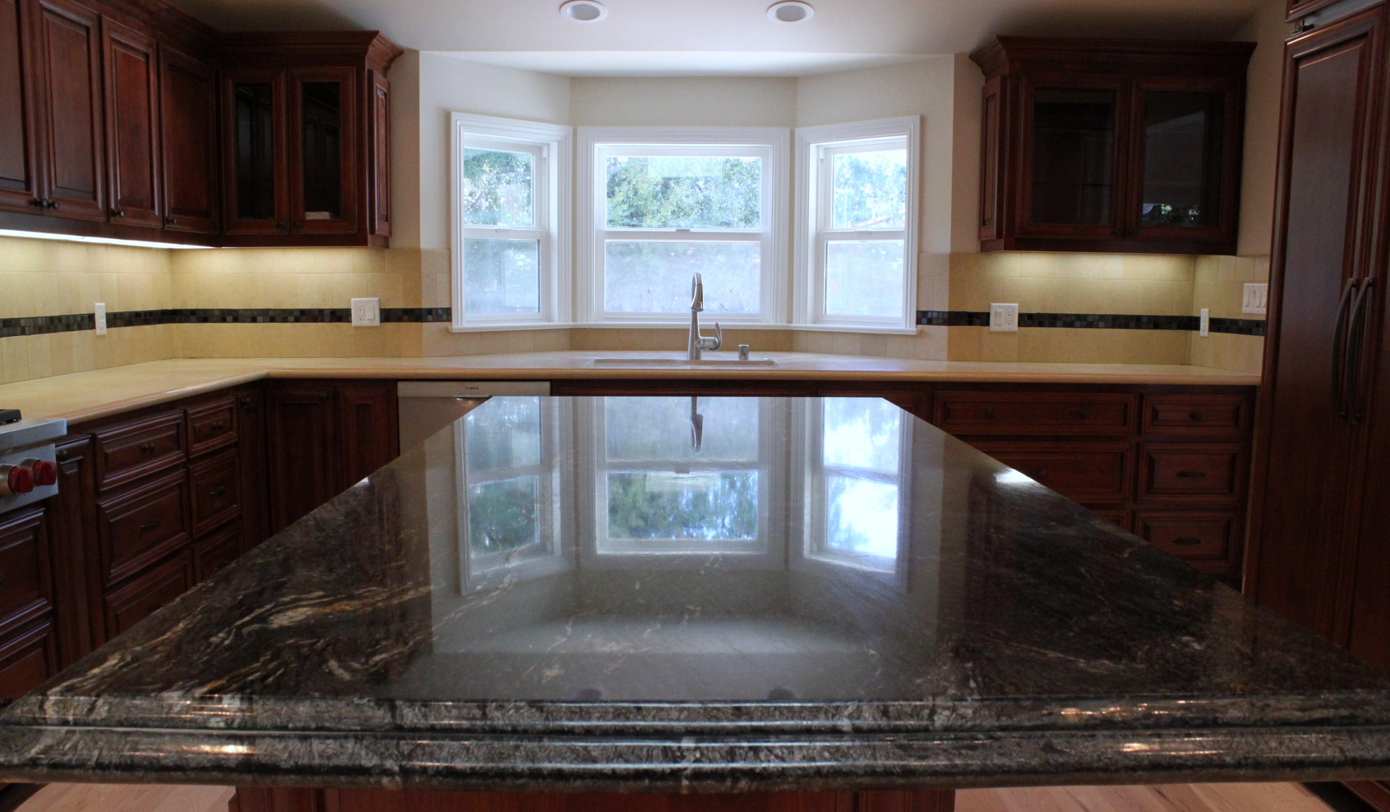 Limestone Kitchen Backsplash Kitchen Pacifica Tile And Granite